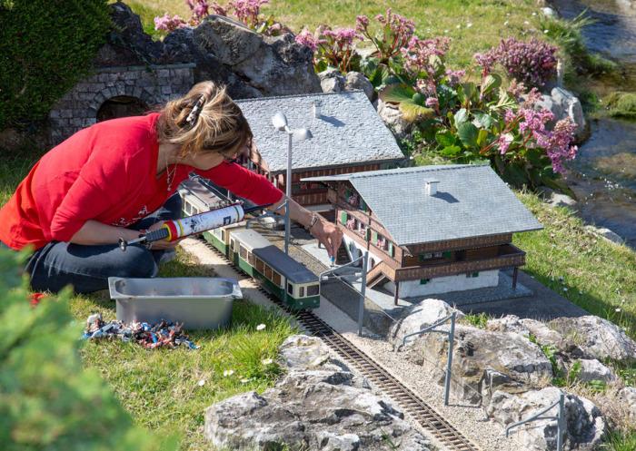 В уникальном парке собраны все достопримечательности Швейцарии. /Фото:swissminiatur.ch