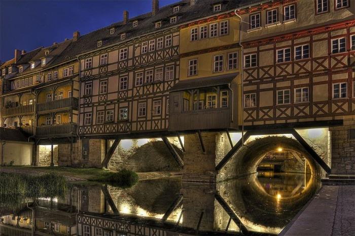 Мосту Кремербрюке более 600 лет. /Фото:fotocommunity.de