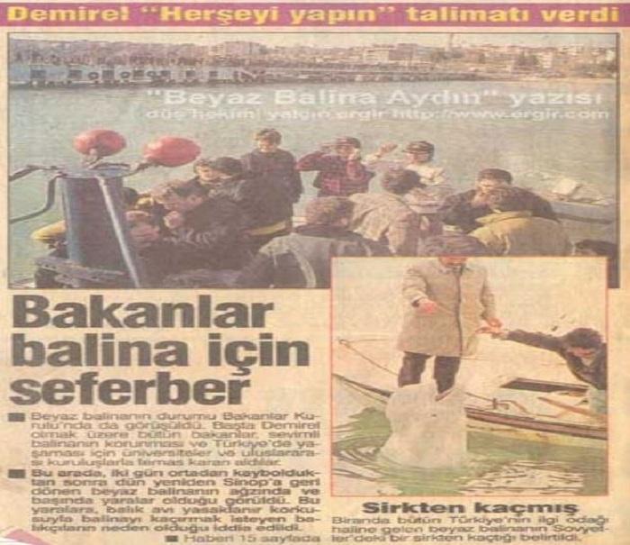Публикация в турецкой прессе. /Фото:denizgazete.com