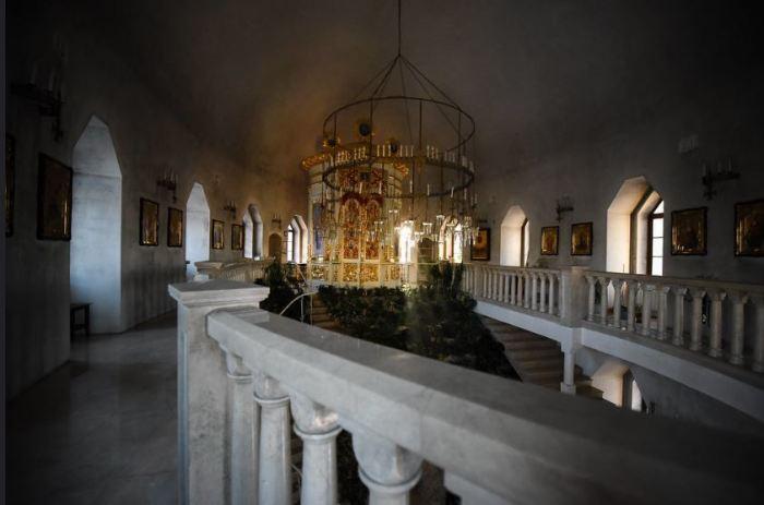 Верхний ярус символизирует Преображение. /Фото: Николай Савельев, stsl.ru