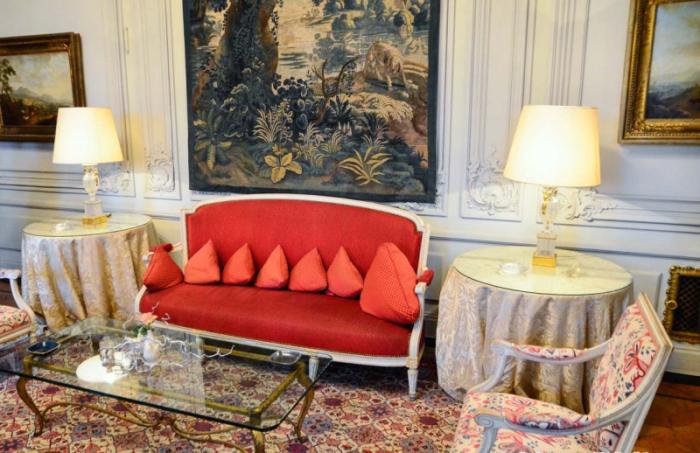 Интерьер дома в наши дни, при Французском посольстве. /Фото:Фото:moscowalk.ru