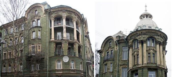 Фрагменты здания (постсоветское время). /Фото:citywalls.ru