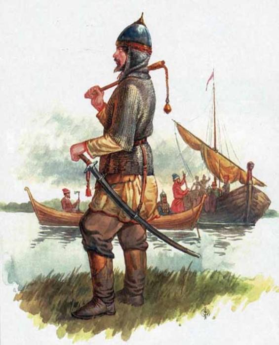 Новгородские ушкуйники наводили страх на финнов, шведов, норвежцев. /Фото:swordmaster.org