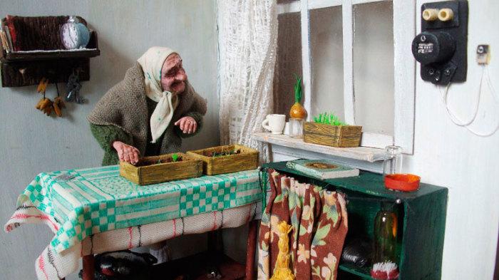 Забота о саженцах. /Фото:livemaster.ru