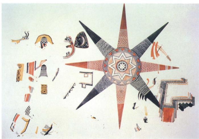 Космологическая восьмиконечная карта. /Фото:uchicago.edu