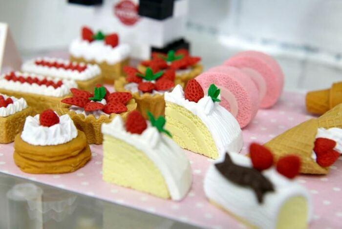 Ластики-пирожные. /Фото:nippon.com