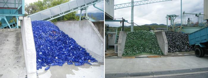 Стекло идёт на строительство олимпийских объектов./Фото:fujino-kougyo.co.jp