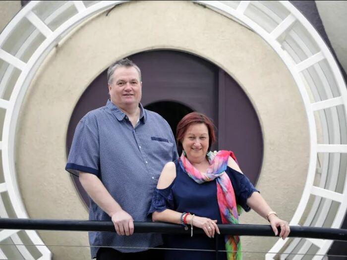 Архитектор с женой. /Фото: realestate.com.au