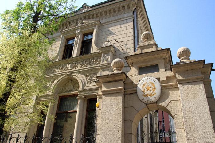 Посольство Италии. /Фото:bdb-2000.livejournal.com