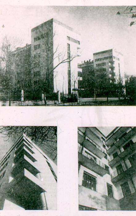 Жилой дом кооператива  «Дукстрой» (1927 год).