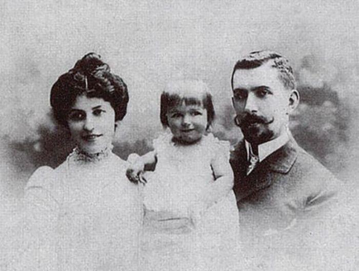 Степан Павлович с женой и сыном. /Фото:kvartblog.ru