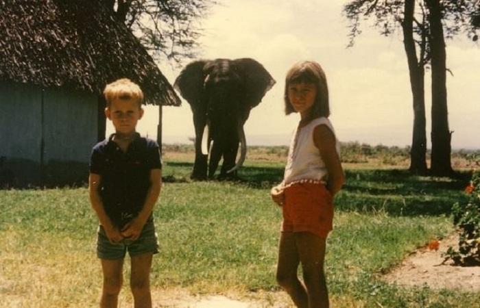 Джойс начала интересоваться дикой природой и слонами ещё в детстве, ведь она жила с родителями в Африке. /Фото:Robert Poole