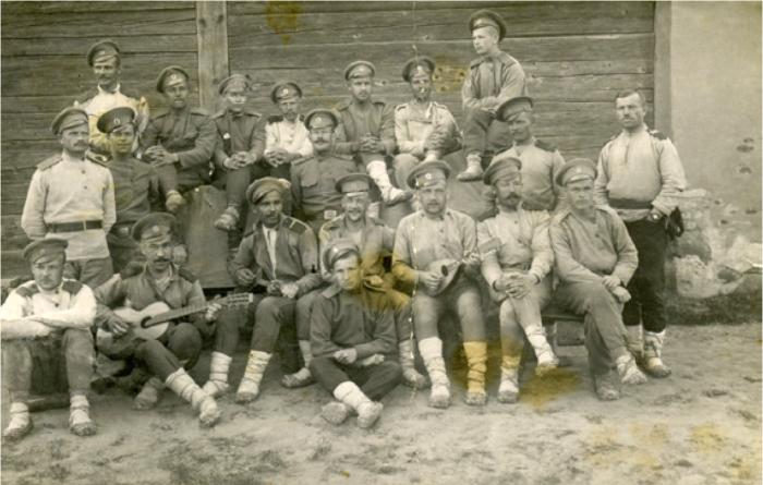 Гроховский 182-й пехотный полк, Волынская губерния, 1917 год