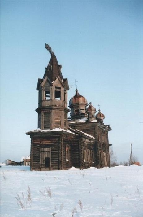 Храм, которого уже нет. Теперь можно полюбоваться им только на фото. /Фото: П.Рачковский