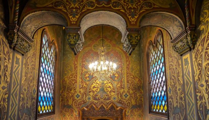 Дом Игумнова внутри. /Фото:moscowalk.ru