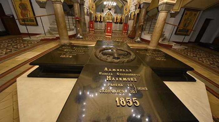 Храм с усыпальницей адмиралов в Севастополе. / Фото:sevastopol.su
