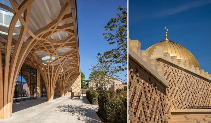 Центральная Кембриджская мечеть соединила европейские и мусульманские традиции в архитектуре.