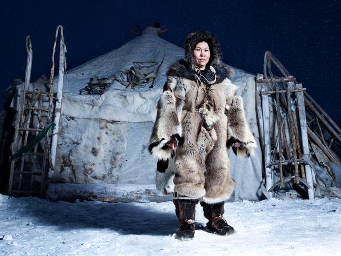 Чукотская женщина/Фото: perunica.ru