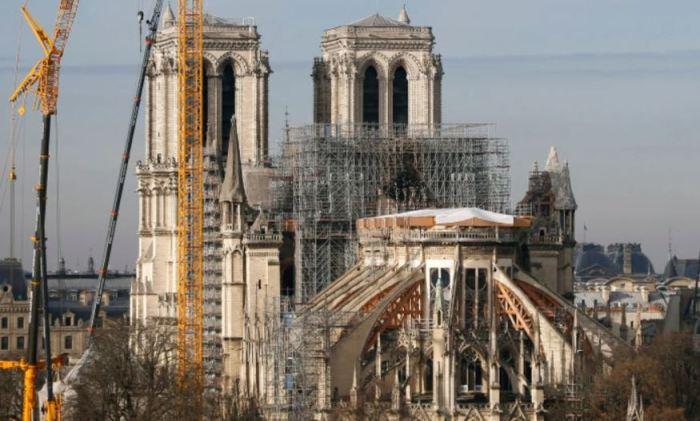 Так сейчас выглядит Собор Парижской Богоматери. /Фото:Photo by Chesnot/Getty Images