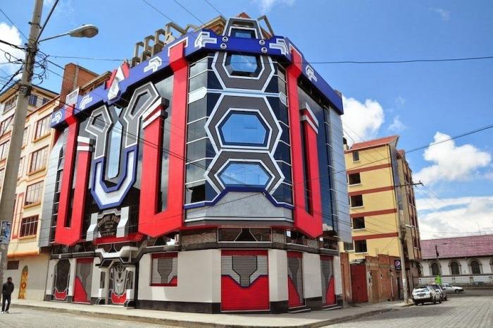 Ты словно оказываешься в городе будущего или в фантастическом кино. /Фото:zefirka.net