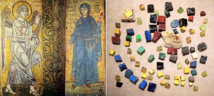Богатство оттенков мозаики поражает. /Фото:pravlife.org