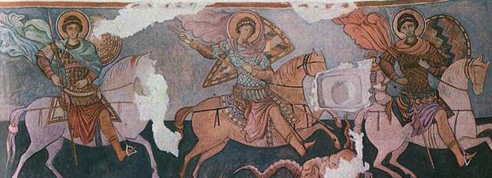Загадочная фреска, в честь которой назвали храм. /Фото:poluostrov-krym.com