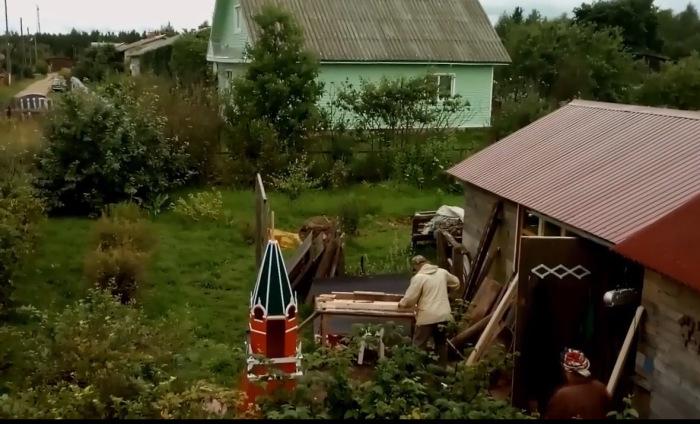 Изготовление Кремля. /Фото:кадр из видеоролика Л.Н. Рагутского