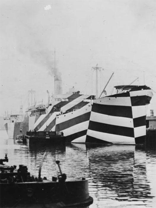 SS West Mahomet в ослепляющем камуфляже. 1918.
