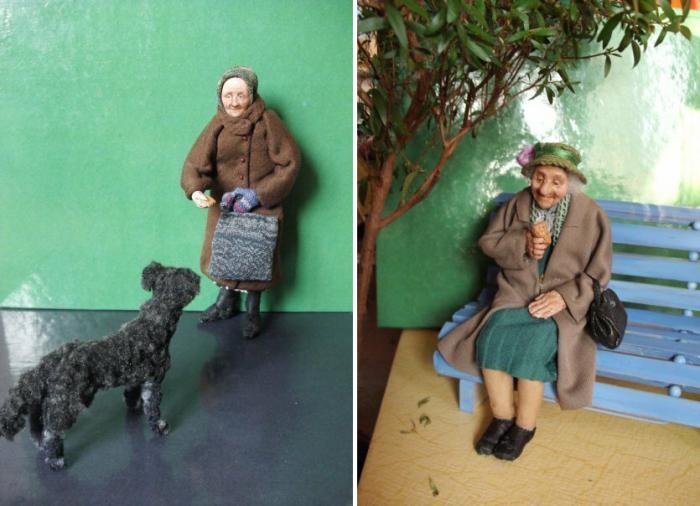 Каждая бабушка - это отдельный характер и отдельная судьба. /Фото:livemaster.ru