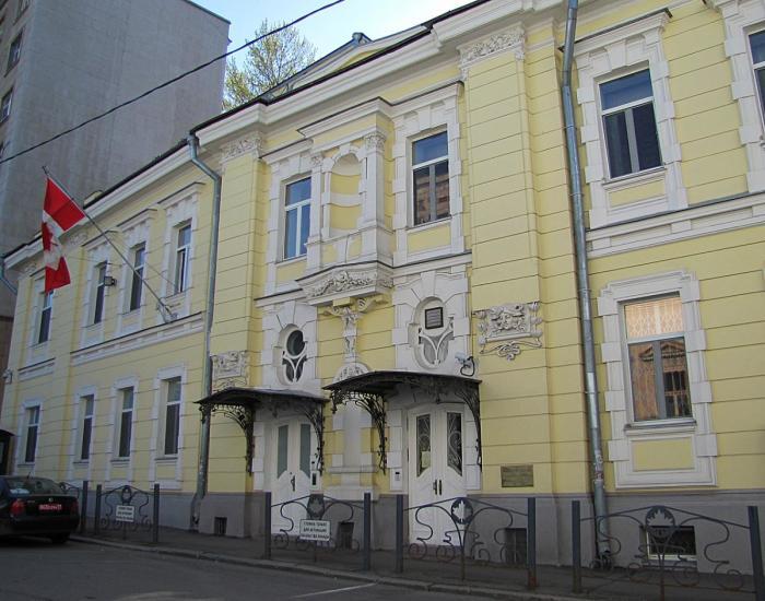 Великолепный фасад. /Фото:mtdata.ru