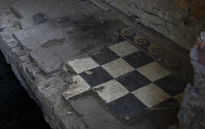 Фрагмент утерянного внутреннего убранства. /Фото:otzovik.com