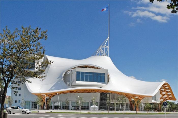 Центр Помпиду в Меце (Франция). /Фото:archi.ru