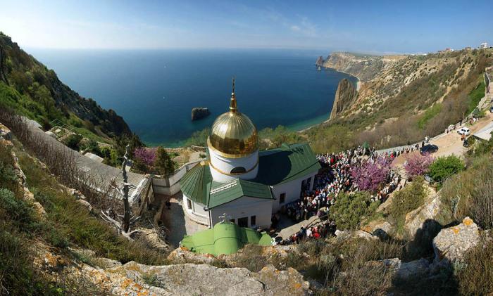 Георгиевский монастырь. /Фото: crimeatour.info
