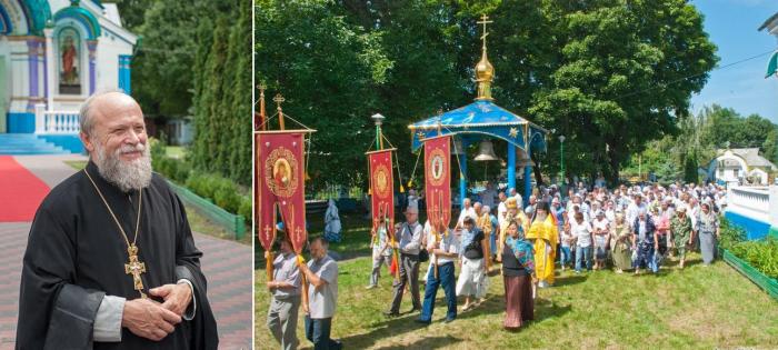 Отец Сергий служит в храме больше двадцати лет. /Фото:ukr.net