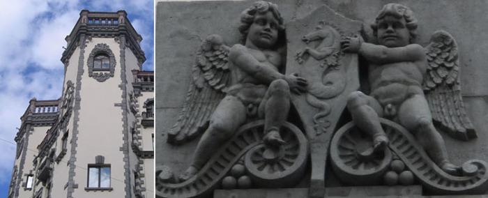 Старинные мотивы переносят нас в Средневековую Европу. /Фото:citywalls.ru