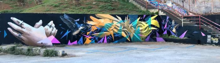 Стрит-арт итальянца Peeta.