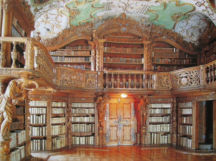 Один из залов библиотеки. /Фото:hiveminer.com