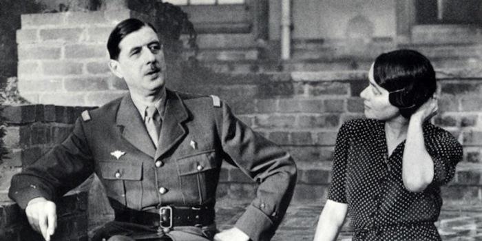 Шарль и Ивонна де Голль.