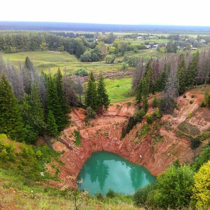 На этом фото видно, что уровень воды сильно опустился. /Фото: amazonaws.com