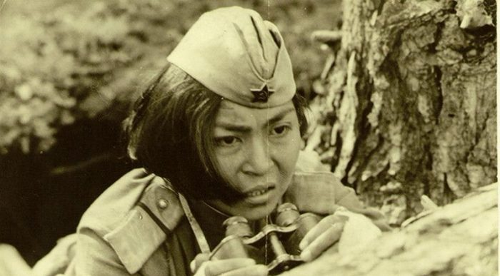 Такой увидел Алию режиссер фильма  «Снайперы» (1985 год, актриса Айтурган Темирова). /Фото:aeslib.ru