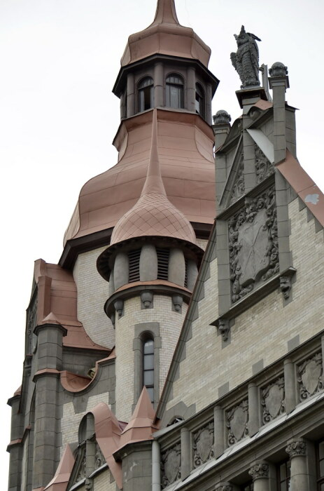 В этом удивительно нарядном здании всегда располагались государственные учреждения. /Фото:staticflickr.com