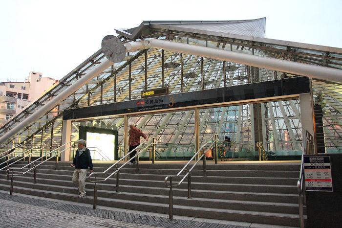 Станция снаружи. /Фото:MiNe, wikipedia.org