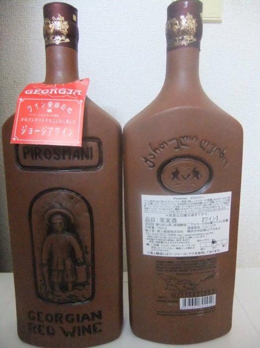 Грузинское вино в глиняной бутылке, купленное в обычном японском супермаркете. Стоит на наши деньги около 20 долларов.