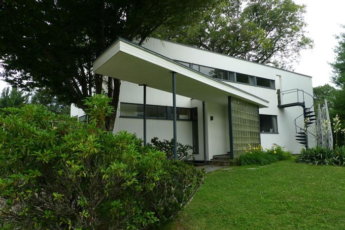 Ассимметричный дом великого архитектора. /Фото:homedesignideas.eu