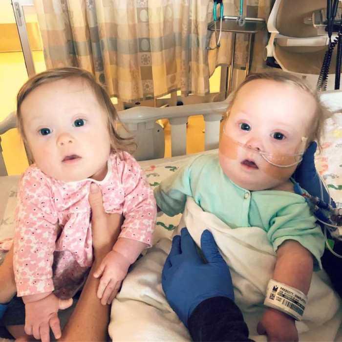Одной из сестрёнок успешно сделали открытую операцию на сердце.