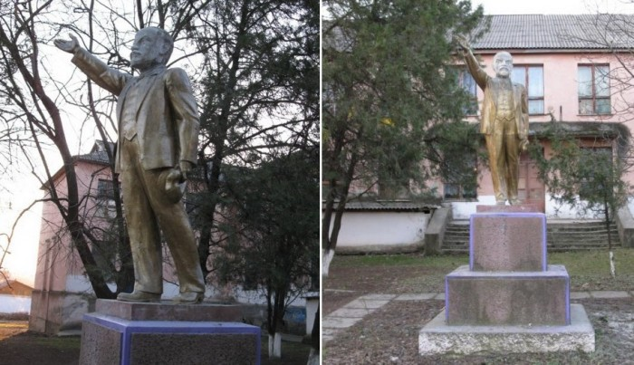 Скульптор немножко ошибся. /Фото:dniester.ru/