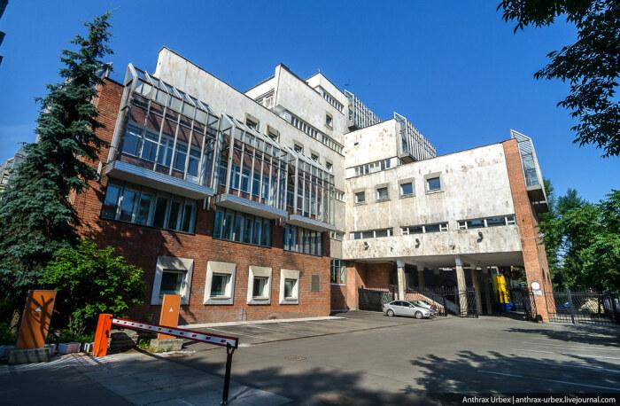 Вычислительный центр Госбанка. /Фото:/anthrax-urbex.livejournal.com