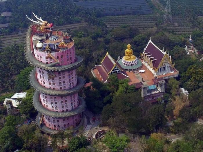 Храм с высоты птичьего полета. /Фото:
