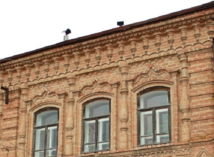 Фрагмент фасада.