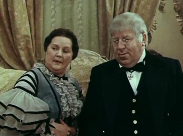 Филиппов в фильме-спектакле «Доходное место», 1981 год. /Фото: kino-teatr.ru